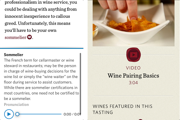 Interactive Wine Books: Old brings us the new