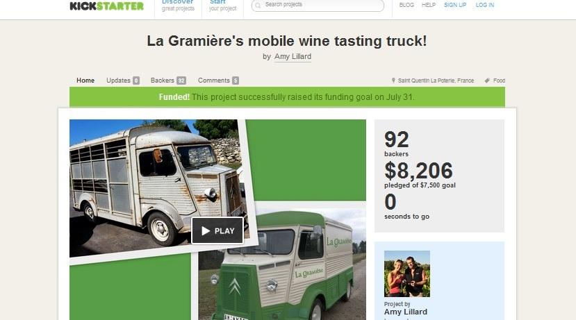La Gramiere's Kickstarter page
